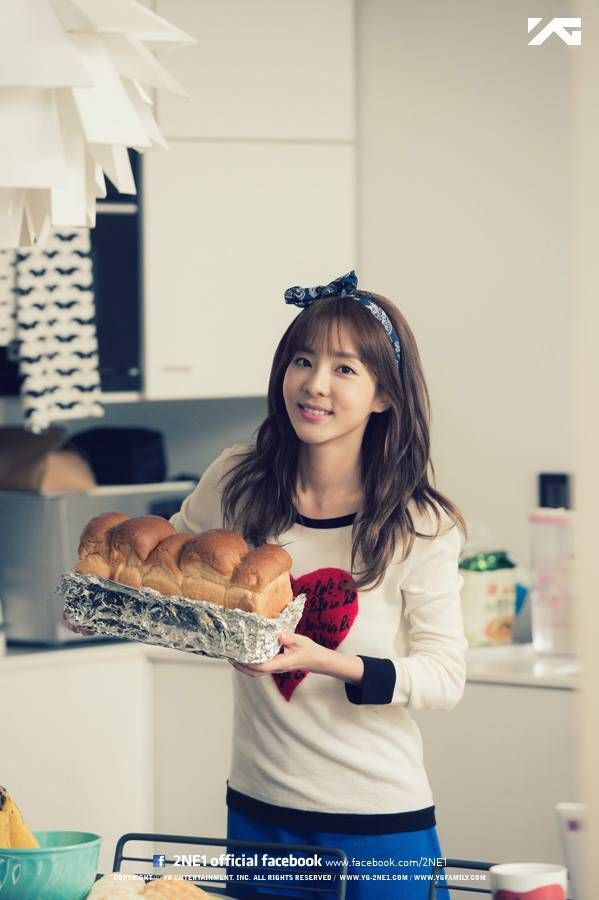 "Young-Looking Sandara Park for ""We Broke Up"" Behind Cuts"