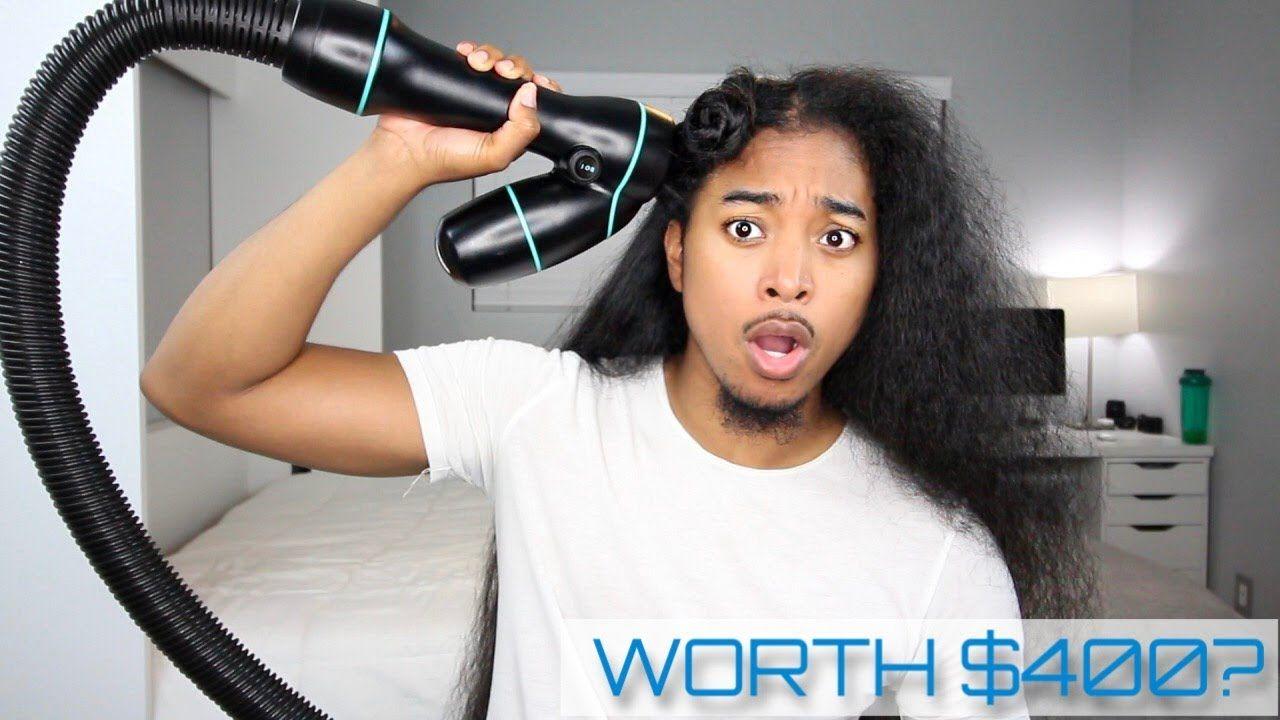 400 Revair Reverse Hair Dryer on Extremely Long Hair