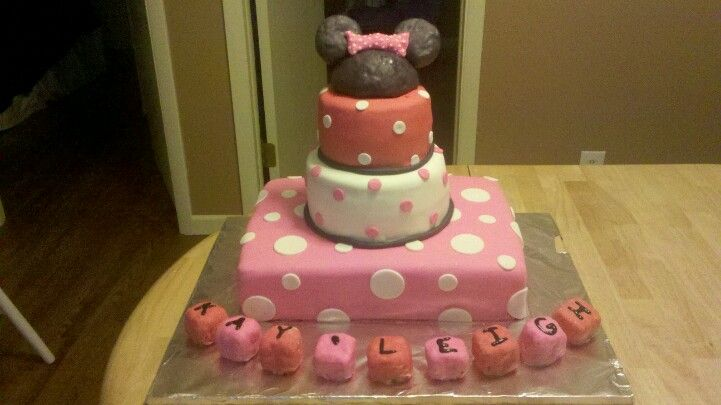 Minnie Mouse Baby Shower Cake Cakes Pinterest Minnie Mouse