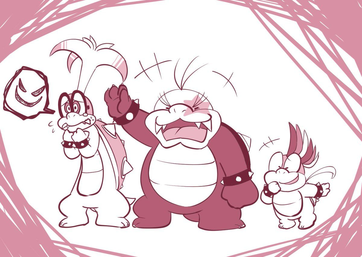 Related Image Super Mario Bros Morton Koopa