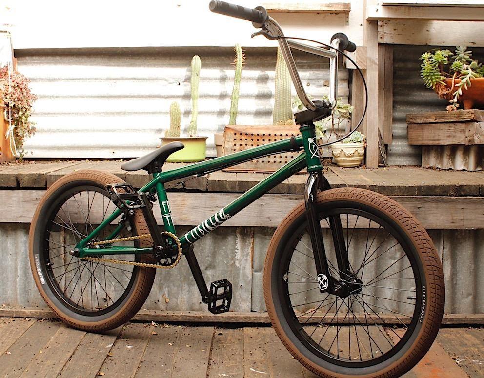 Fit Bike Co Trl Trans Green 2018 Bmx Bmx Shop Bike
