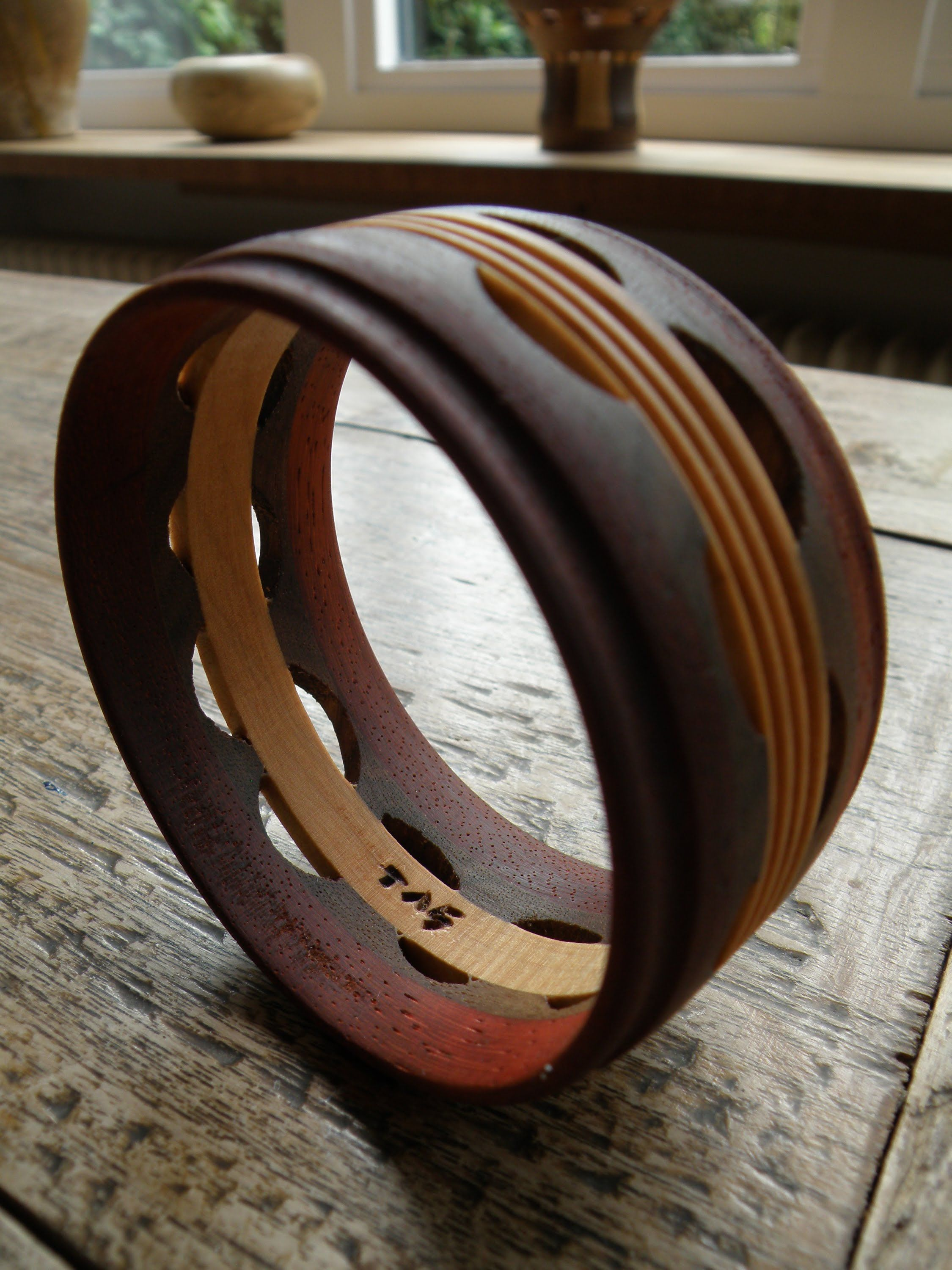 woodturning bracelet a lot of overkill but generally