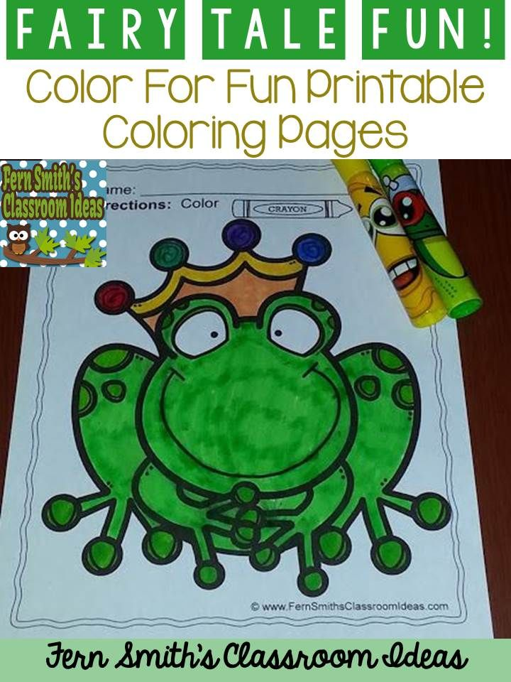 Fairy Tales Coloring Pages - 42 Pages of Fairy Tale Coloring Fun ...