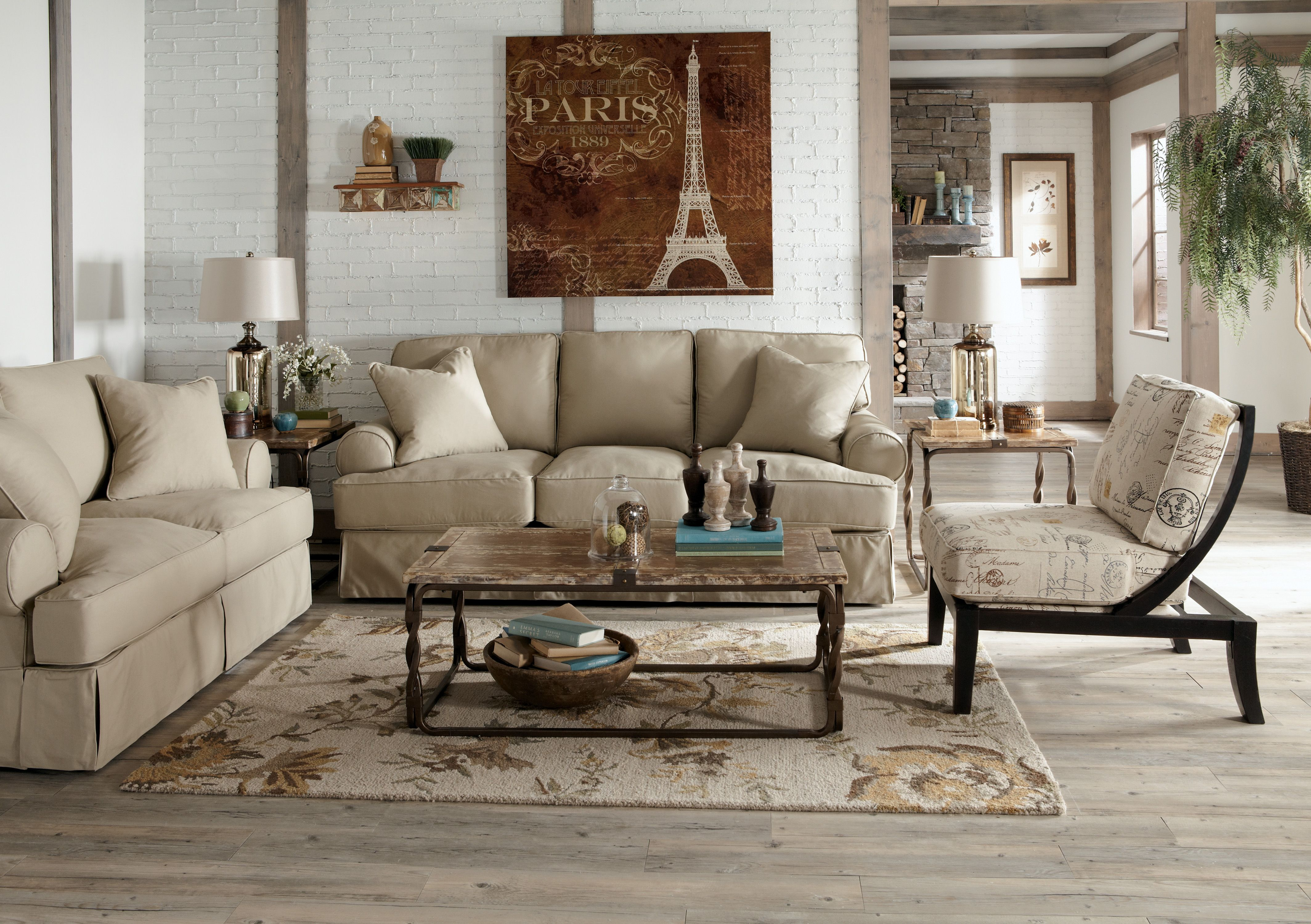 Vintage Casual Living Room Furniture Casual Living Rooms Mattress Furniture Vintage casual living room
