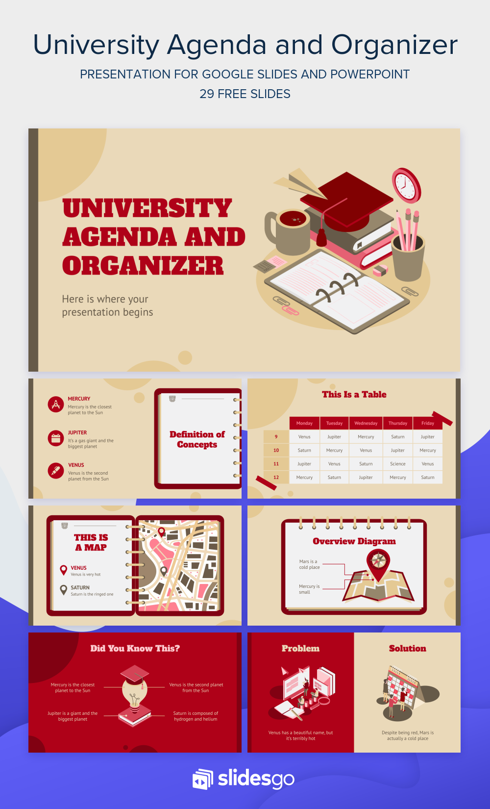 Make The Most Of Your Day With This University Agenda Organizer Prese Powerpoint Design Templates Powerpoint Presentation Design Presentation Design Template