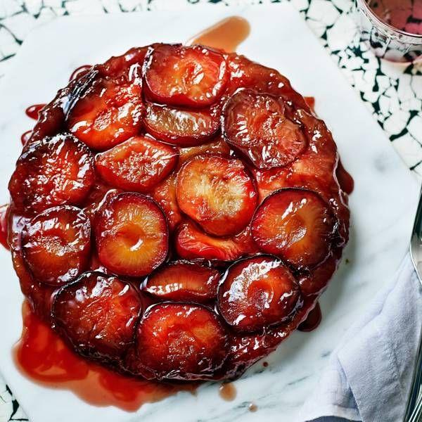 Jamie Oliver Plum Tarte Tatin Recipe Plum Recipes Plum Tarte Tatin Tarte Tatin Recipe