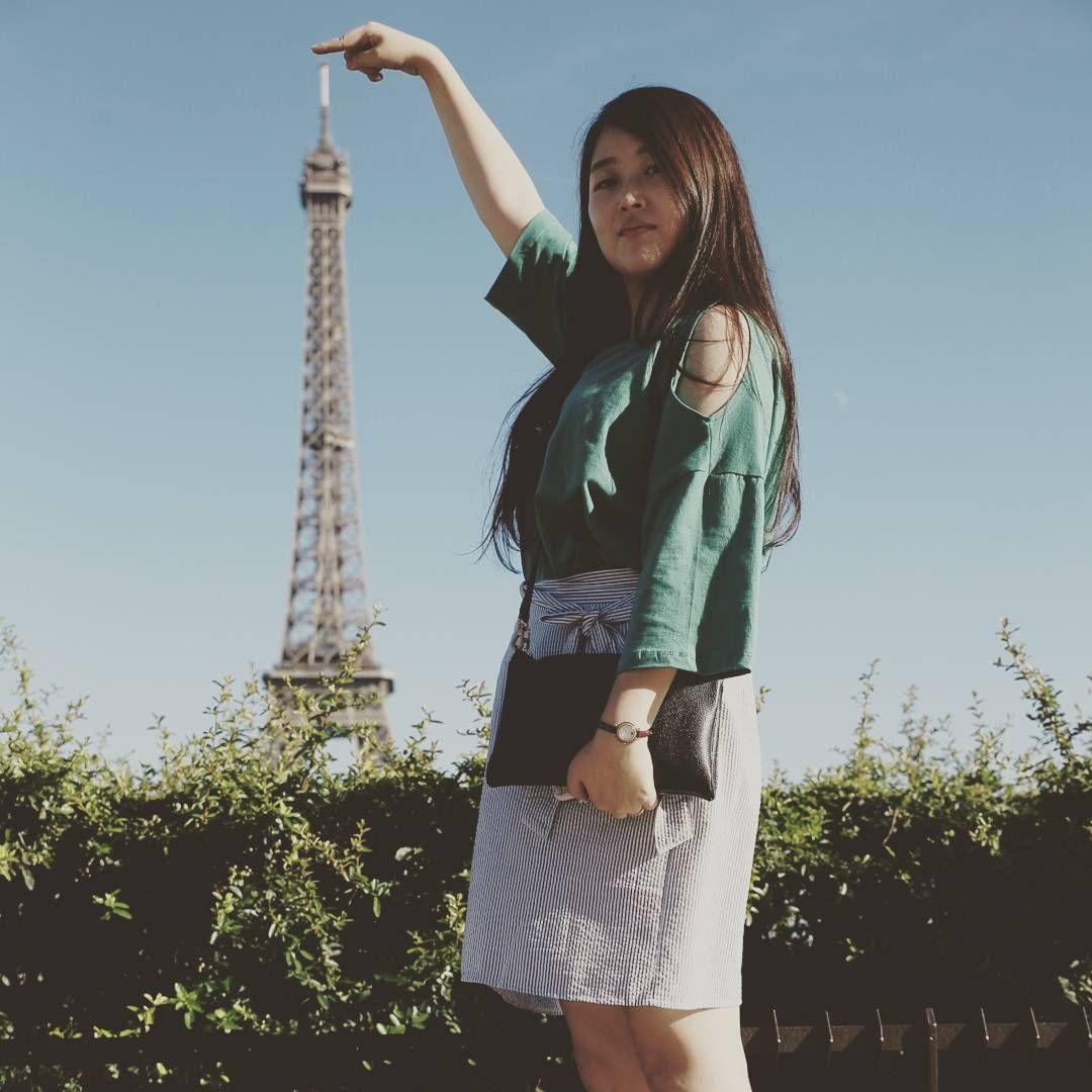Instagram의 박민화님: #에펠탑 #진격의미놔뇽