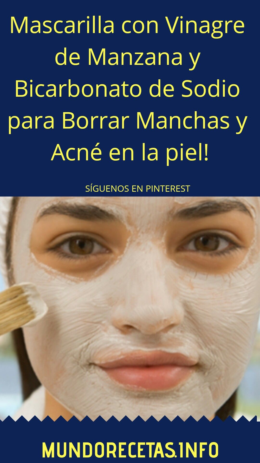 Rosa cerrar restante  Mascarilla con #Vinagre de #Manzana y #Bicarbonato de #Sodio para Borrar  #Manchas y #Acné en la #piel! | Skin care tips, Beauty skin care, Skin care