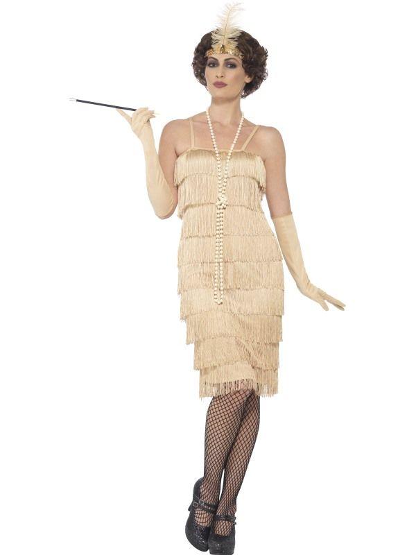 Details Zu Charleston 20er Jahre Kostum Fransenkleid Damen Kleid
