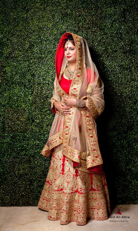 There Is Nothing More Beautiful Than A Traditional Wedding Dress Portfolio By Rent An Attire Pune Weddingnet Wedd Indian Dresses Wedding Lehnga Red Lehenga