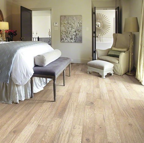 """Shaw Laminate Reclaimed Collection Flax 8"""" X 48"""" Laminate"""