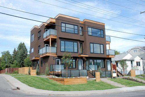Modern fourplex gallery for Quadplex designs