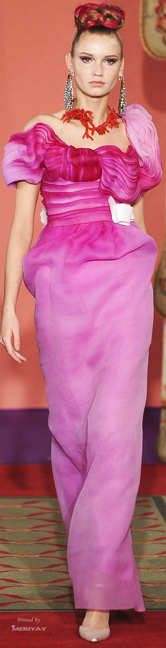 Couture Spring 2009 - Christian Lacroix jaglady
