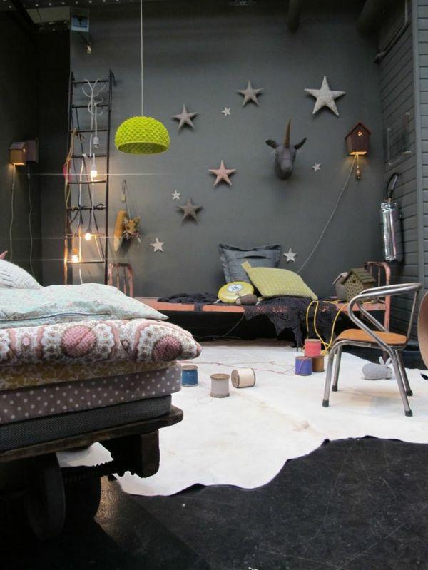 Grau Als Wandfarbe: Wie Schön Ist Das Denn! Diy ZimmerKinderzimmer JungeRegal  ...