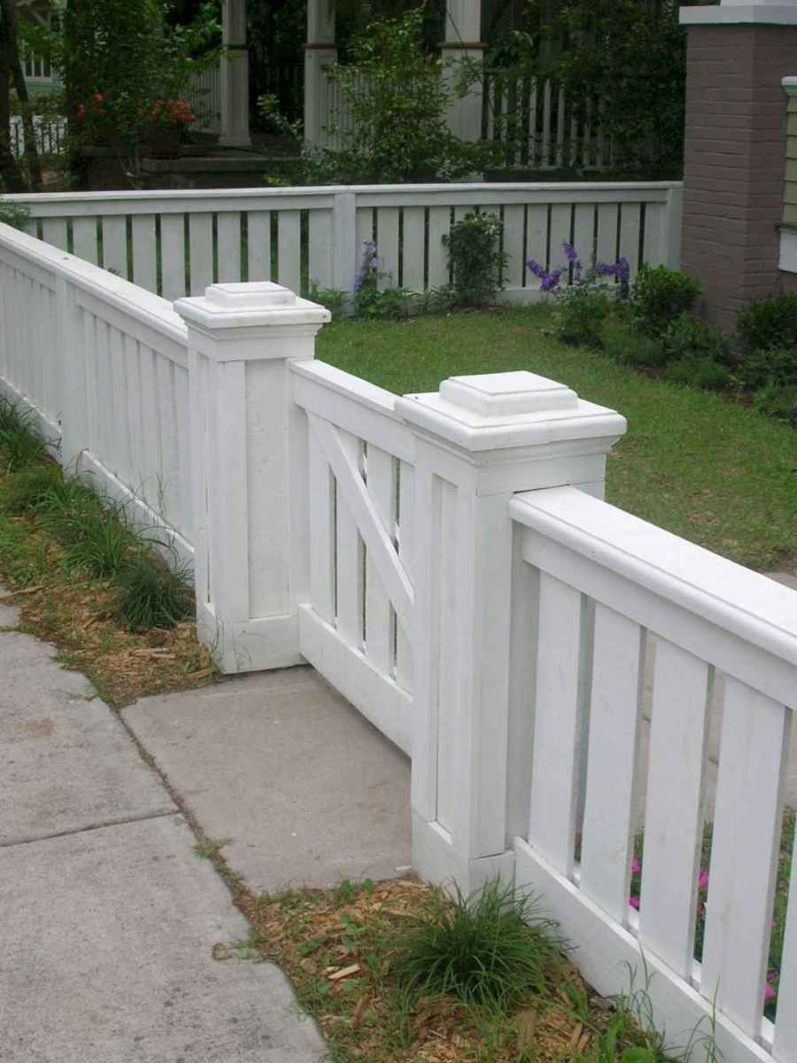 64 DIY Front Yard Privacy Fence Remodel Ideas   Ogród ... on Front Yard Renovation Ideas id=88720