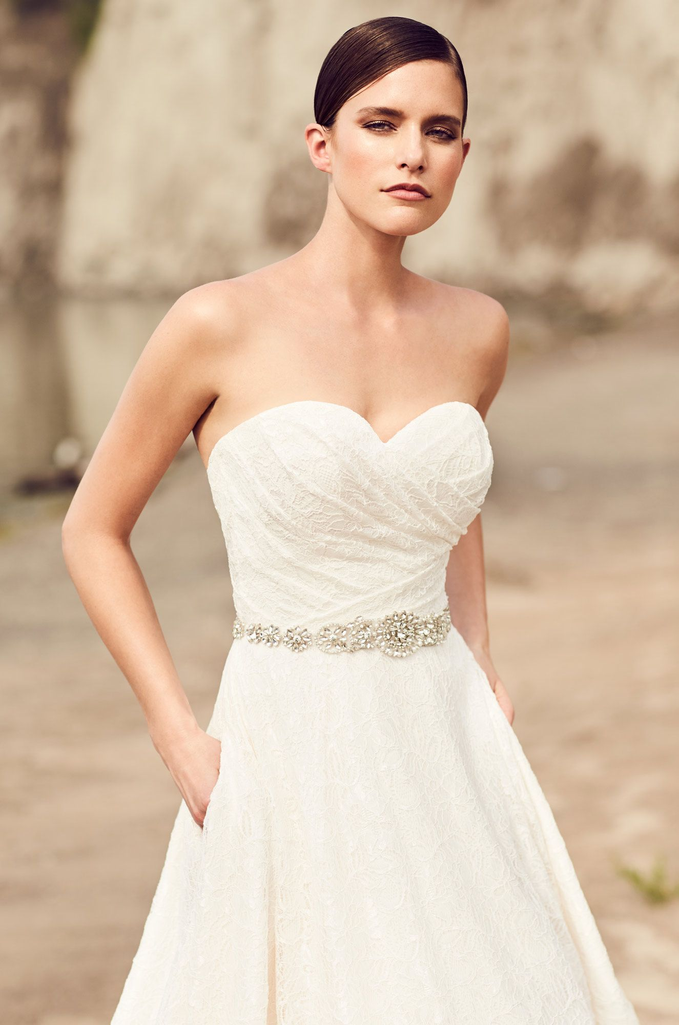 Elegant full lace wedding dress style pinterest mikaella