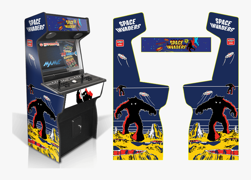 Space Invaders Arcade Cabinet Hd Png Download Is Free Transparent Png Image To Explore More Similar Hd Image On Pn Space Invaders Arcade Arcade Graphics Game