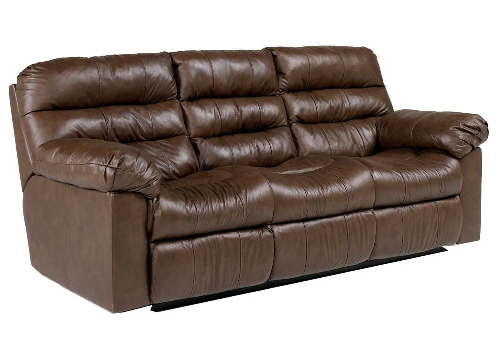 Best Memphis Brown Reclining Sofa By Ashley Millennium 400 x 300