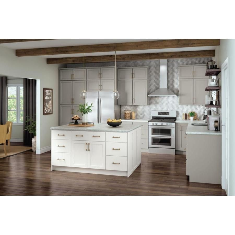 Diamond Now Wintucket 33 In W X 30 In H X 12 In D Truecolor Cloud Door Wall Stock Cabinet Lowes Com Kitchen Cabinet Inspiration Lowes Kitchen Cabinets Stock Cabinets