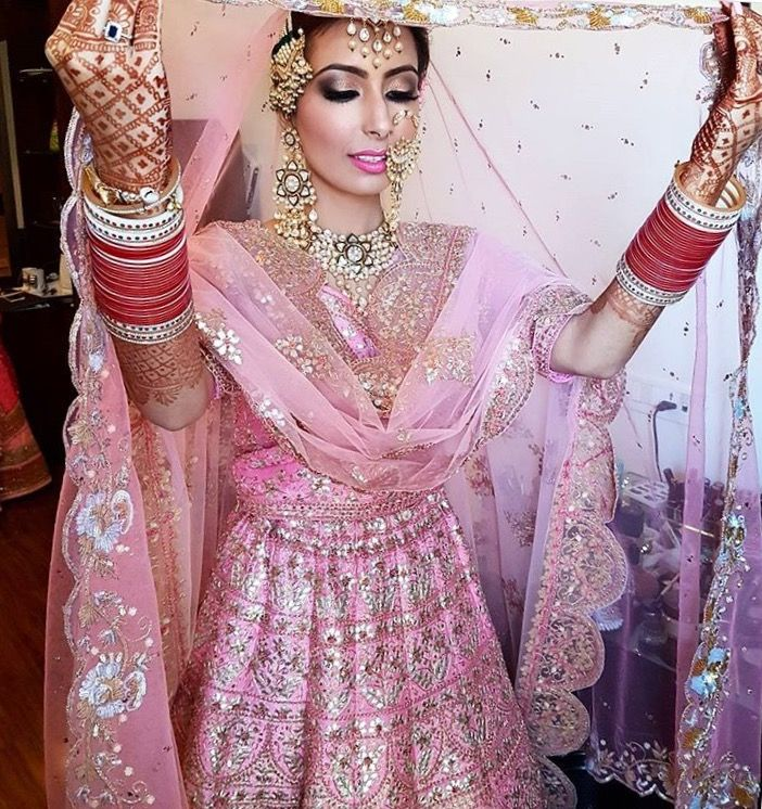 Jewelry is not standing out .Because the lehnga color is light ...