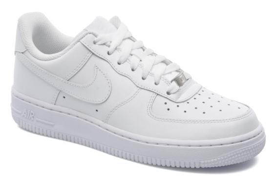 bde33d9b590 Baskets Wmns Air Force 1 07 Nike vue 3/4 | nike black sneakers en ...
