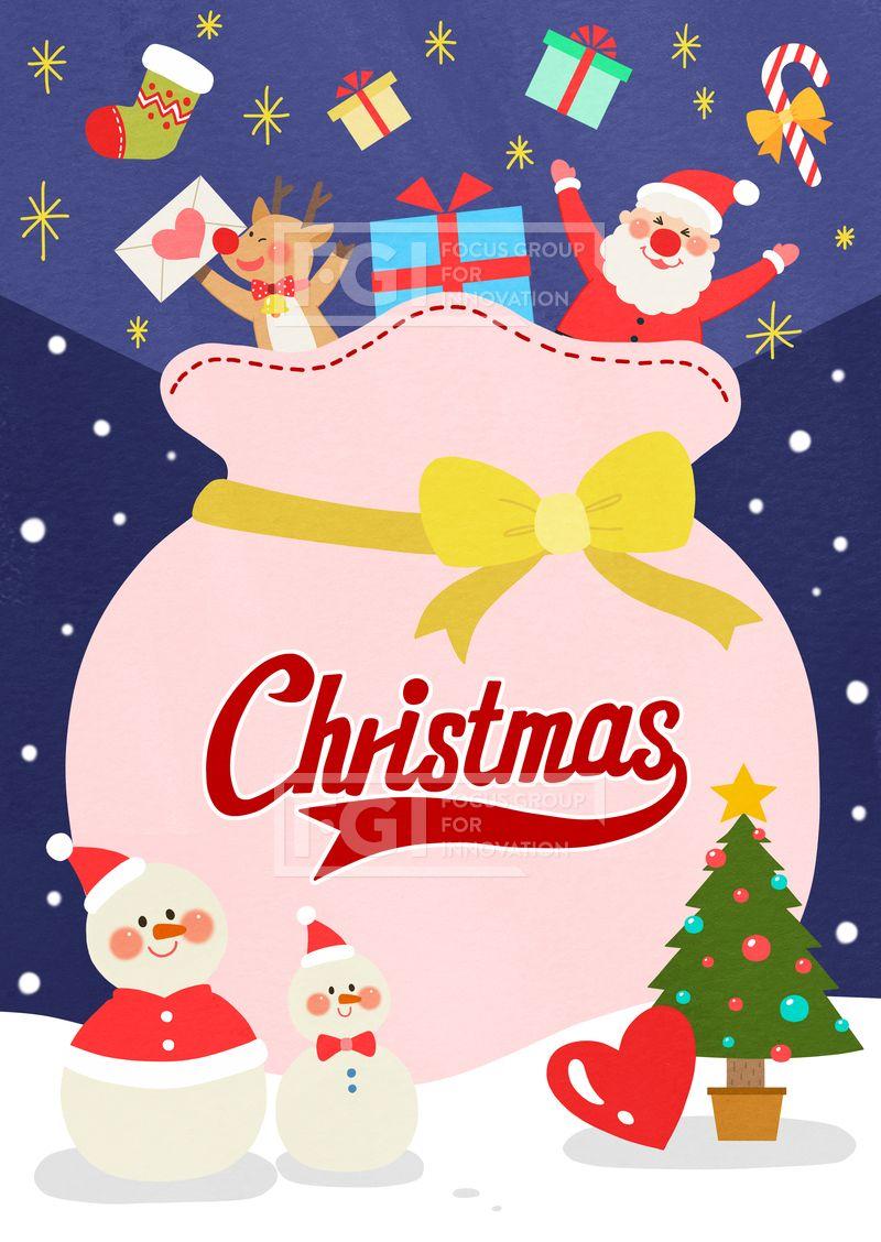 Spai164 프리진 일러스트 겨울 이벤트 에프지아이 크리스마스배경 크리스마스 배경 캐릭터 사람 남자 오브젝트 성탄절 메리크리스마스 기념일 화이트크리스마스 화이트 선물 선물상자 상자 웹활용소스 크리스마스 카드 크리스마스 트리