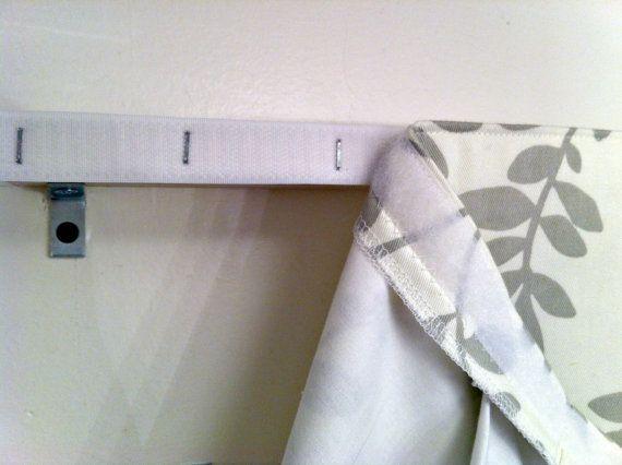 Box Pleat Bed Valance