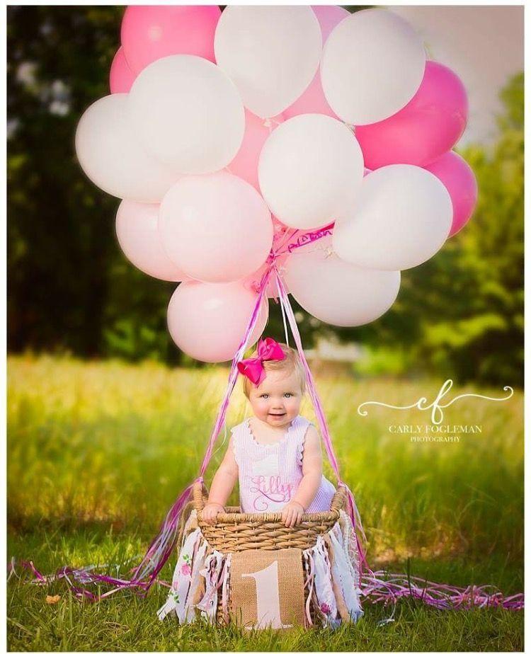 Hot Air Balloon Theme First Birthday