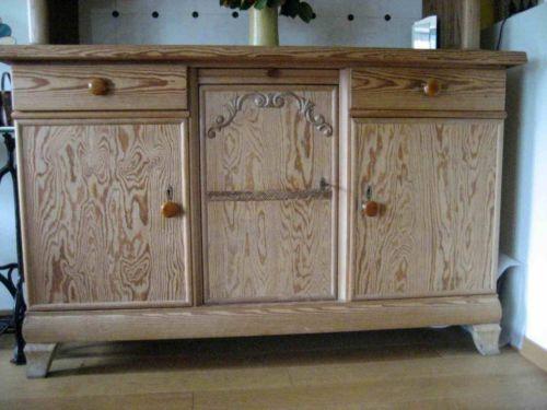 k chenbuffet weichholz in m lheim k ln dellbr ck ebay kleinanzeigen k chenm bel buffet. Black Bedroom Furniture Sets. Home Design Ideas