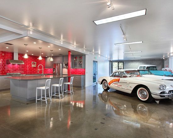 Guys Garage Design Pictures Remodel Decor And Ideas Modern