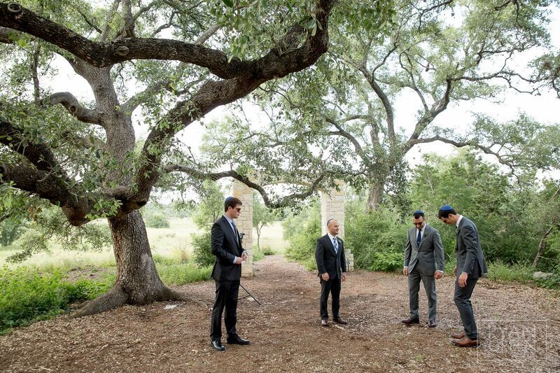 J.Standard | jstandardevents.com | Setting the Highest Standards in Event Production | Spring Wedding | Lady Bird Johnson Wildflower Center | Wedding Portrait | Groomsmen Photo | Suit | Outdoor Wedding Picture