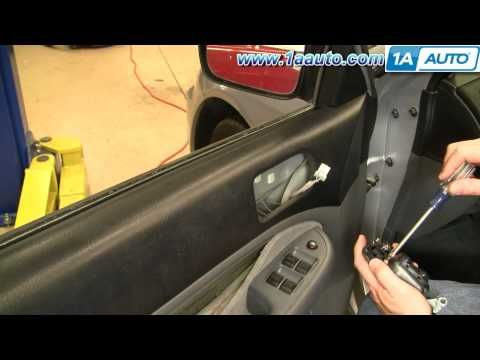 How To Install Replace Inside Door Handle Honda Civic 01 05 1aauto Com Honda Civic Door Handles Repair Videos