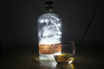 Make a Cool Light From a Whiskey Bottle images