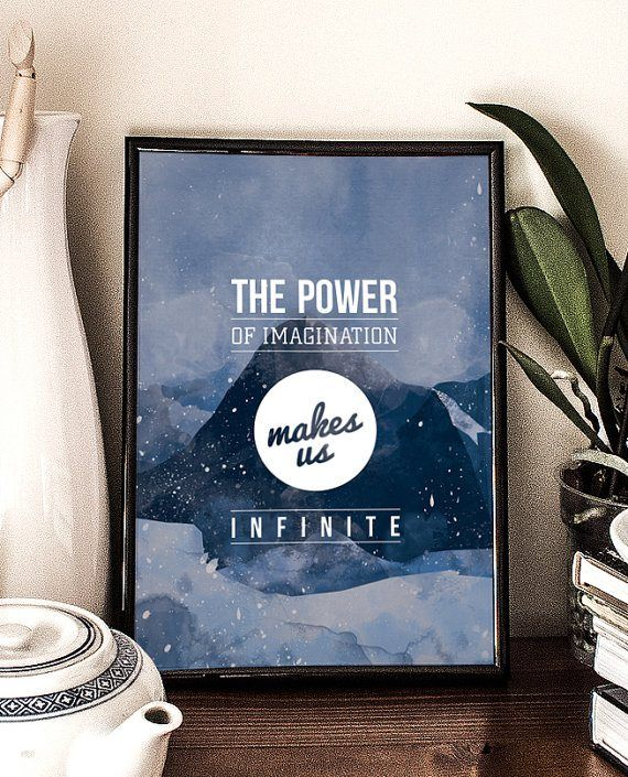 Golden Words #37: the power of imagination makes us infinite