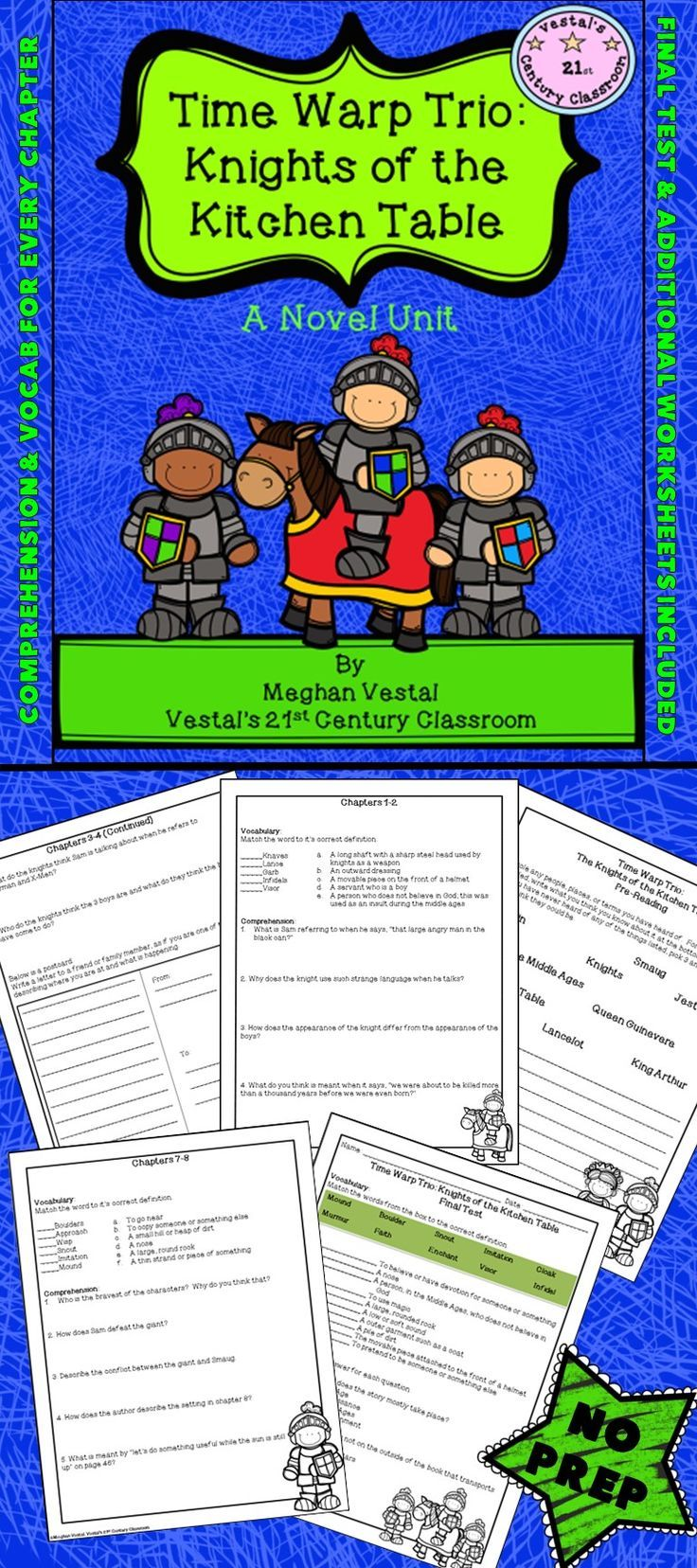 Time warp trio knights of the kitchen table pinterest final time warp trio knights of the kitchen table is a favorite for my students in this time warp trio unit you will find implicit and explicit watchthetrailerfo