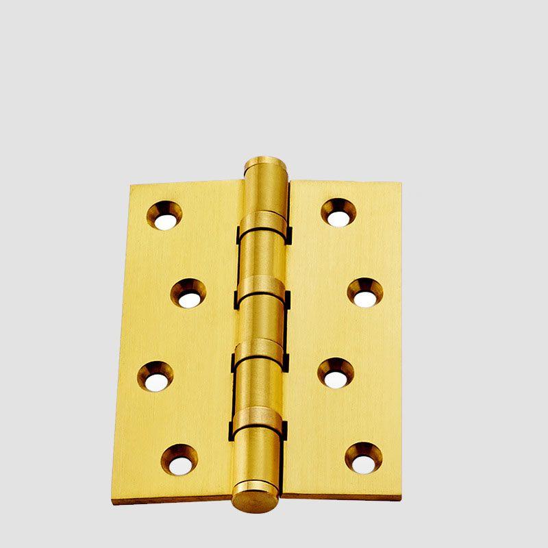 Dl1123 Hinge Full Copper Bearing Flat Open Wooden Door Hinge Thick Folding Sheet 4 Inch With Screw Accessories Monolithic Wooden Doors Door Hinges Wooden