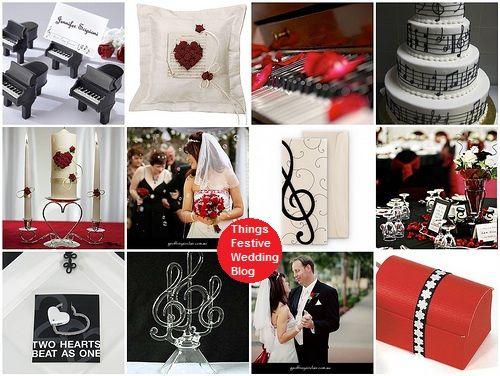 Musical Wedding Theme Ideas