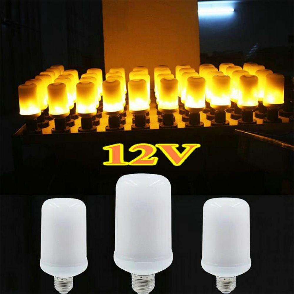 Led 12v Flame Lamp In 2020 Lamp Mood Lamps Led