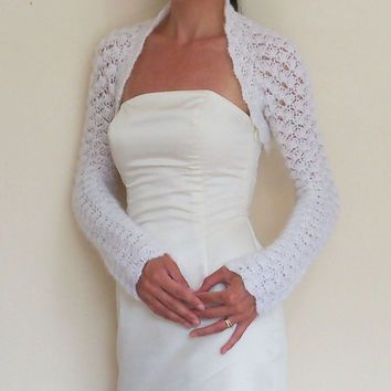 Bridal Shawl, Bridal Shrug, Ivory Shawl, Summer Wedding Shawl ...