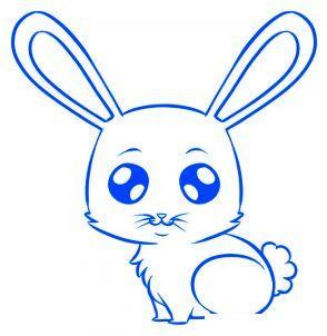 Comment dessiner un lapin etape par etape - Lapin a dessiner ...