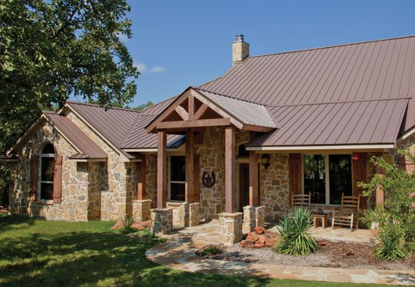Cf Panel Mueller Inc House Exterior Exterior House Colors Metal Roof Houses