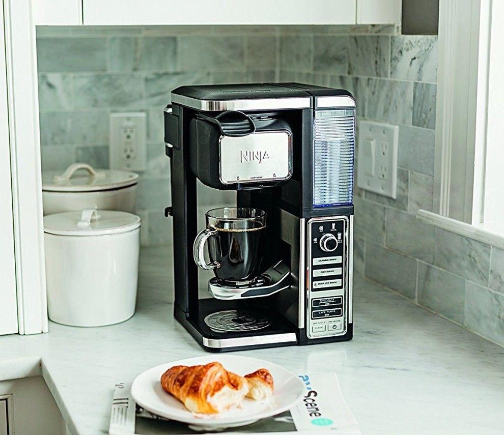 how to clean ninja coffee maker single serve