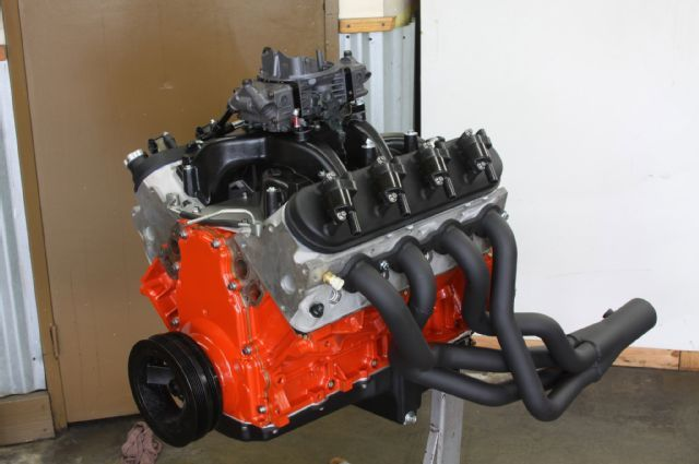 028 6l 6 Liter Lq9 Rebuild Hooker Swap Header Orange Carb
