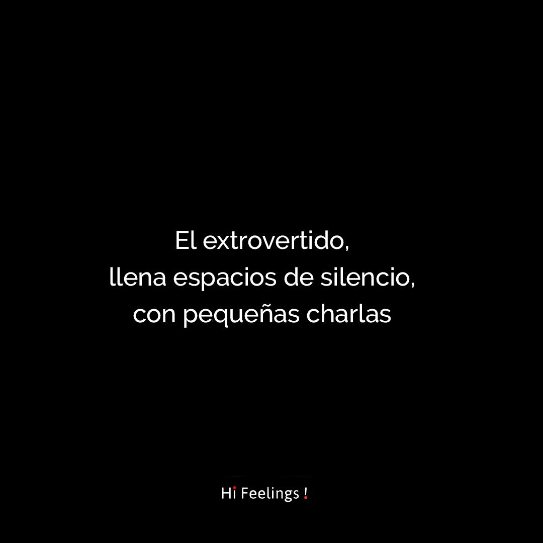 A La Persona Extrovertida Le Asusta El Silencio En El