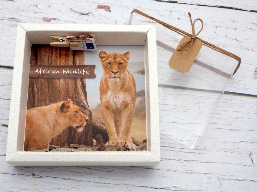 Geldgeschenk Verpackung Afrika Safari Urlaub Reise Geldgeschenke Geschenkidee Geldgeschenke Geschenke Geschenke Verpacken