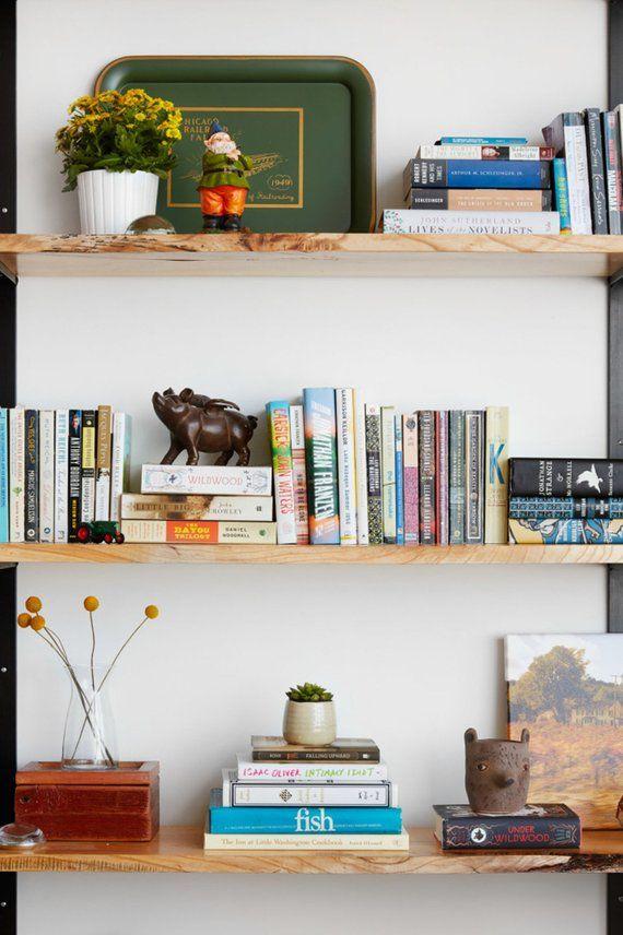 Wooden Wall Mounted Shelves Wall Shelves Living Room Modern Wall Shelf Wall Hanging Shelves