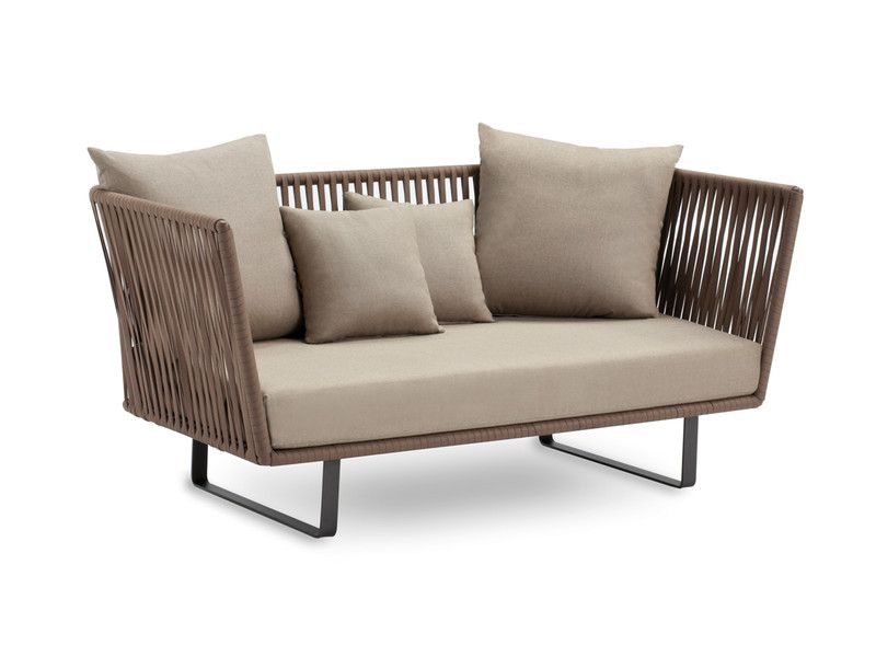 Buy The Kettal Bitta Two Seater Sofa At Nest Co Uk Modern Outdoor Sofas Modern Patio Furniture Outdoor Sofa