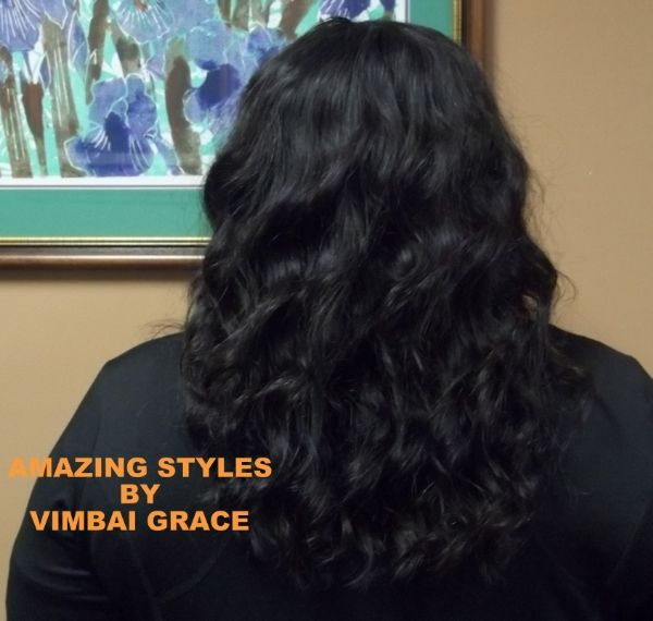 Traditional Sew In Weave Using 14 Inch Brazilian Bodywave Hair Www Hairextensionsforyou Biz Unprocessed Hair Weave Hairstyles Unprocessed Hair Weave
