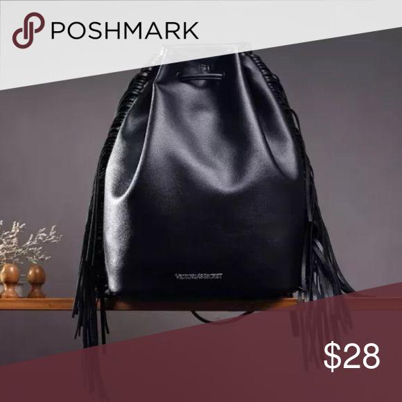 Victoria Secret Fringe Backpack Fashion Fringe Backpack Tassel Bag