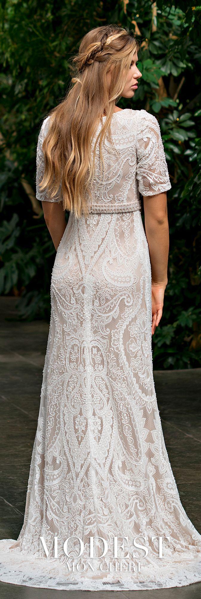 Modest wedding dresses tr modest wedding lace design and